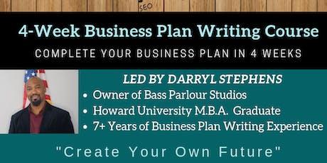 4-Week Business Plan Writing Seminar tickets
