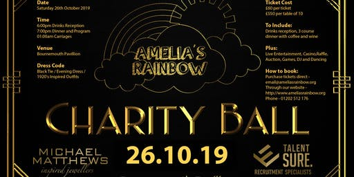 Amelia's Rainbow Charity Ball