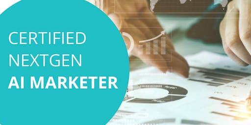 Exclusive program on AI Marketing Designed for marketing professional