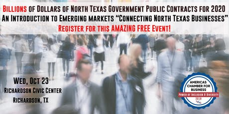 Americas Chamber Expo - The Power of Inclusion & Diversity - Free Event tickets