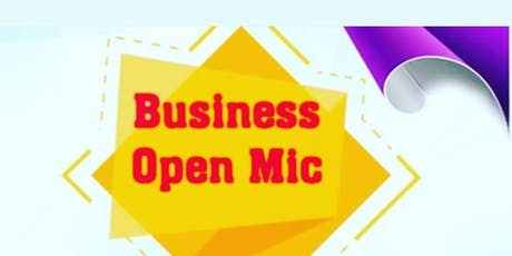 Business Open Mic tickets