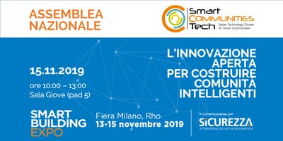 Assemblea Nazionale Cluster Smart Communities