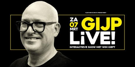 GIJP LIVE! in Wageningen (Gelderland) 07-03-2020 tickets