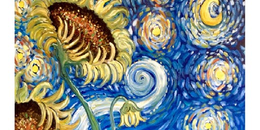 Starry Night Sunflowers - Ivanhoe Hotel Manly