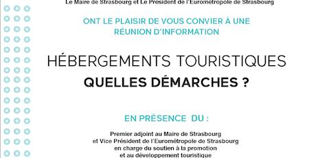 Hébergements touristiques - Quelles démarches? billets
