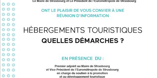 Hébergements touristiques - Quelles démarches?