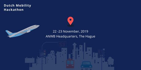 Dutch Mobility Hackathon - November 22-23 2019 tickets