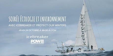 Soirée Icebreaker et Protect Our Winters à Lyon ! biglietti