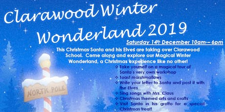Winter Wonderland @ Clarawood 2019 tickets