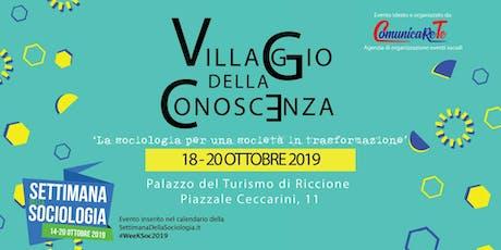 Villaggio della Conoscenza  2019 biglietti
