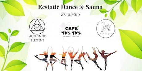 Ecstatic Dance & Sauna tickets
