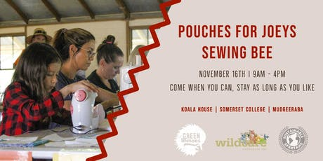 Pouches for Joeys Sewing Bee tickets