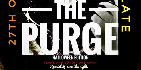THE PURGE HALLOWEEN EDITION tickets