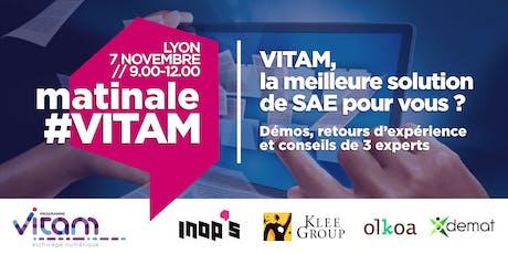 Matinale VITAM Lyon : VITAM est-elle la meilleure solution de SAE pour votre organisation ? billets