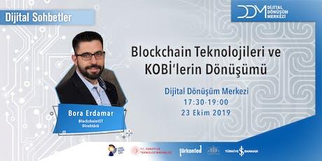DDM Dijital Sohbetler: Blockchain Teknolojileri ile Dijital Dönüşüm tickets