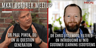 MKAI October   Artificial Intelligence Meetup   AI and How We Learn