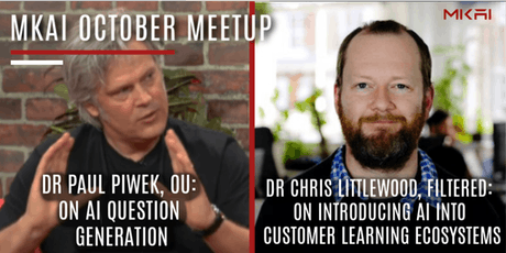 MKAI October | Artificial Intelligence Meetup | AI and How We Learn tickets