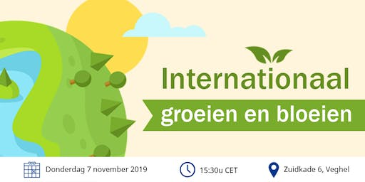 Kennisevent: Internationaal groeien en bloeien