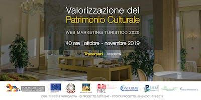 Valorizzazione del Patrimonio Culturale - Web Marketing turistico 2020