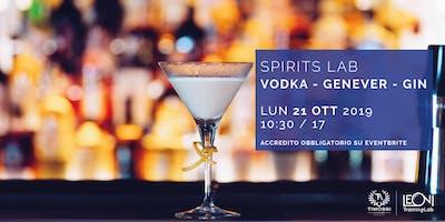 Spirits Lab // Vodka - Genever - Gin