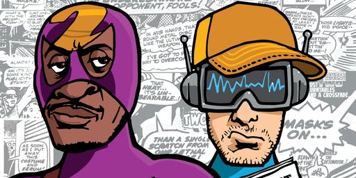 Krafty Kuts and Chali 2na- Adventures Of A Reluctant Superhero Tour