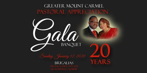 GMC Pastoral Appreciation Banquet