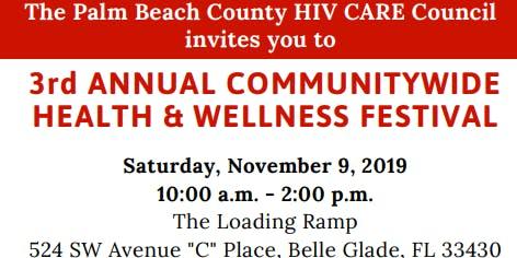 3rd Annual Communitywide Health & Wellness Festival