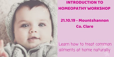 Introduction to Homeopathy workshop (Mountshannon, Co. Clare)  tickets