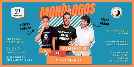 Monólogos a beneficio de PROEM-AID