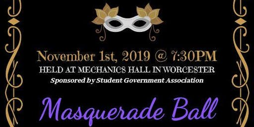 SGA presents Masquerade Ball