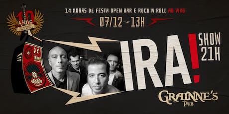 Aniversario 10 anos Grainne's Pub ingressos