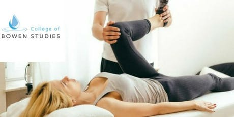1 Day Introduction to Bowen Practitioner Training tickets