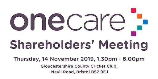 One Care Shareholders Meeting 2019