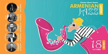 Armenian Jazz Night tickets