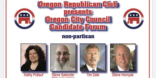 Oregon City Council Canditate Forum