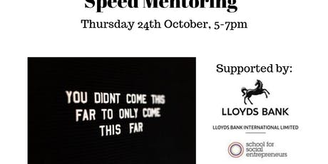 IoM CoC Speed Mentoring tickets