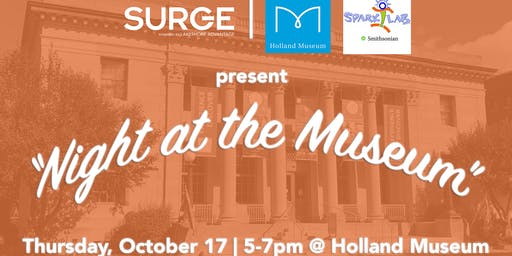 SURGE Night at the Museum