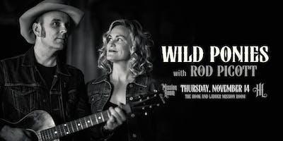 Wild Ponies + Rod Picott