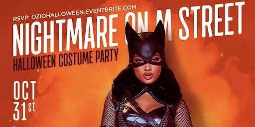 'Nightmare on M Street' || Halloween Night in the District!