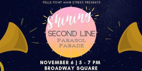 """Shining"" Second Line Parade - Brilliant Baltimore Neighborhood Lights tickets"