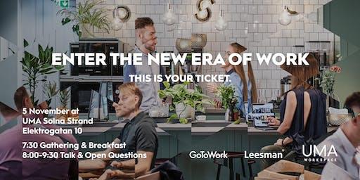 Leesman, UMA Workspace & GoToWork 5 Nov