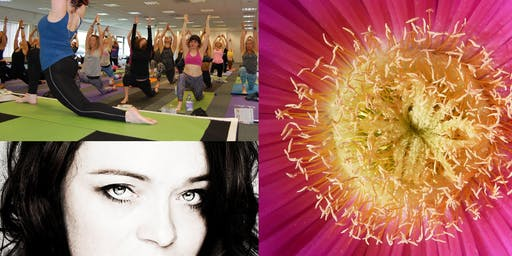 Relax and Release Yoga workshop with Claudia Brown.
