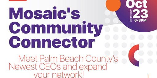 Mosaic's Community Connector-A Networking Event