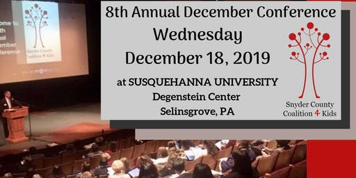 SCC4Kids  8th Annual December Conference
