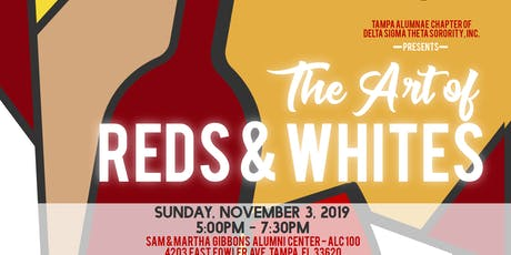 The Arts of Reds & Whites tickets