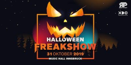 Halloween Freakshow 2019 Tickets