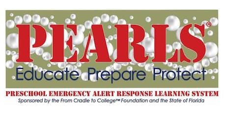 PEARLS - Preschool Emergency Alert Response Learning System tickets