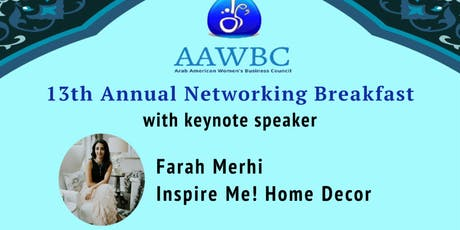 13th Annual Networking Breakfast tickets