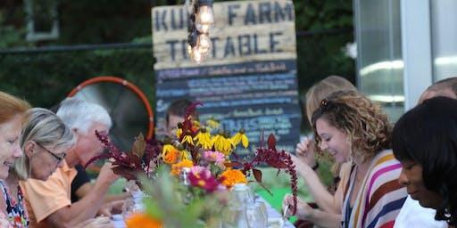 Interfaith Neighbors Farm to Table Dinner featuring Chef Antony Bustamante