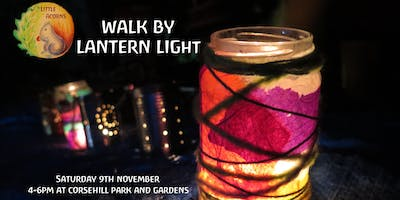 Little Acorns Walk by Lantern Light